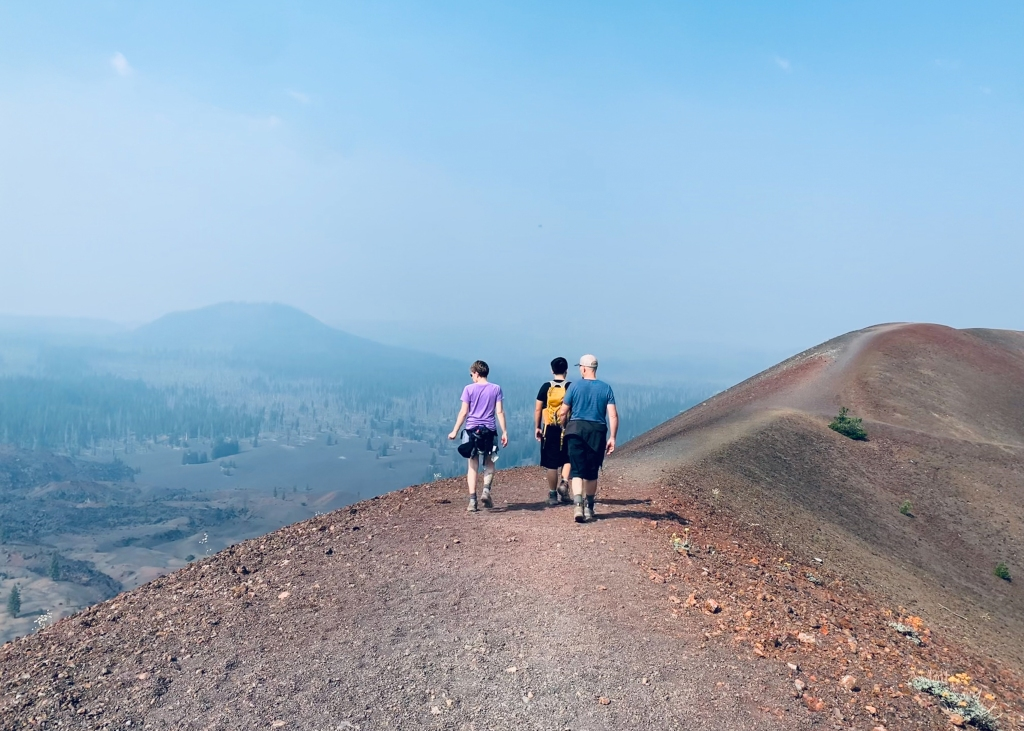 Hiking the Cinder Cone in Lassen National Park